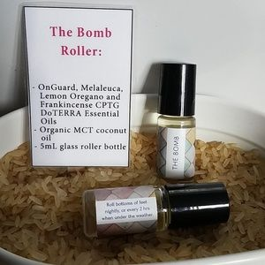 The Bomb DoTERRA essential oil roller blend